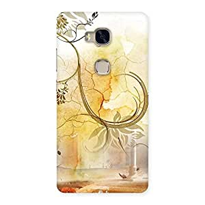 Nature Pattern Multicolor Back Case Cover for Huawei Honor 5X