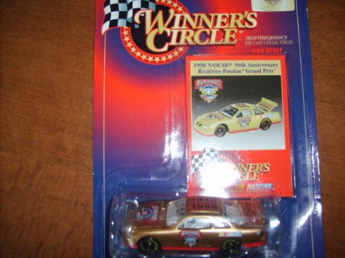 Winner's Circle 1:64 Scale 1998 NASCAR 50th Anniversary Rivalries Pontiac Grand Prix Gold Car