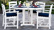 Hot Sale La Casa Cafe 5 Piece Dining Set with Cushions