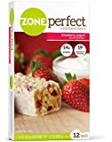 ZonePerfect Nutrition Bars, Strawberry Yogurt, 1.76-Ounce, 12 Count