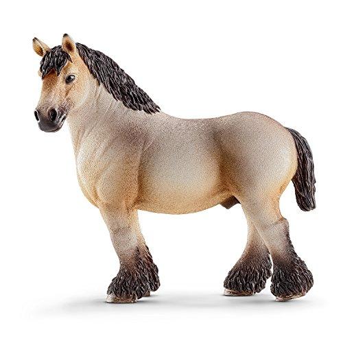 Schleich Ardennes Stallion Toy Figure - 1