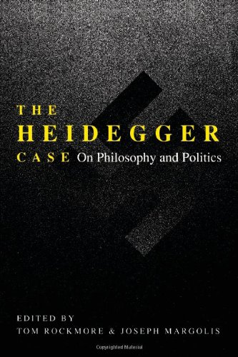 The Heidegger Case: On Philosophy and Politics