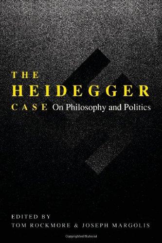 The Heidegger Case: On Philosophy and Politics