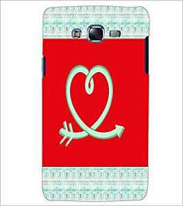 PrintDhaba Love D-5786 Back Case Cover for SAMSUNG GALAXY ON 5 (Multi-Coloured)