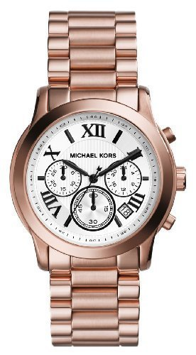 Michael Kors MK5929 39mm Gold Steel Bracelet & Case Mineral Women's Watch