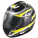 Akira Osaka RO 2015 Full-Face Helmet XXL Black/Yellow