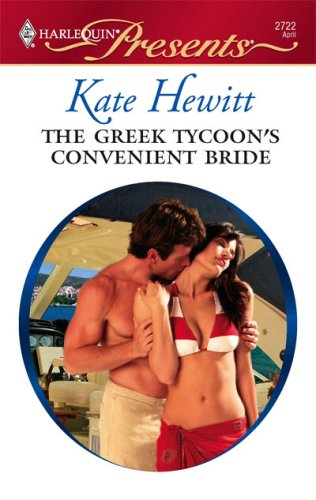 Image for The Greek Tycoon's Convenient Bride (Harlequin Presents # 2722)