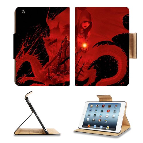 Dragon Age Origins Artwork Worriers Apple Ipad Mini Flip Case Stand Smart Magnetic Cover Open Ports Customized Made To Order Support Ready Premium Deluxe Pu Leather 8 Inch (205Mm) X 5 1/2 Inch (140Mm) X 11/16 Inch (17Mm) Luxlady Ipad Mini Professional Ipa front-592834