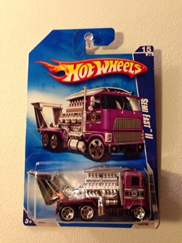 Hot Wheels 2008 All Stars Semi Fast II Purple #055/196