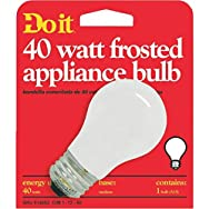 GE Private Label 18335 Do it Appliance Light Bulb-40W FROST APPLIANCE BULB