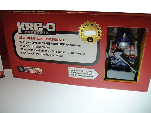 Picture of Hasbro Kre-O BOTCON 2011 OPTIMUS PRIME Exclusive Mini-Figure (B0055B3LQY) (Hasbro Action Figures)