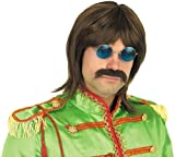 60s Beatles Pop Fancy Dress Wig - One Size