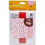 Cuttlebug Cricut A2 Embossing Folder and 5-Inch Border, Elaborate Quatrefoil