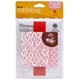 Provo Craft 2002108 Cuttlebug A2 Embossing Folder-Border Set-Anna Griffin Elaborate Quatrefoil