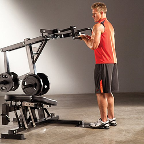 Gym Equipment Europe: Marcy Pro PM4400 Weight Bench Leverage Home Multi Gym