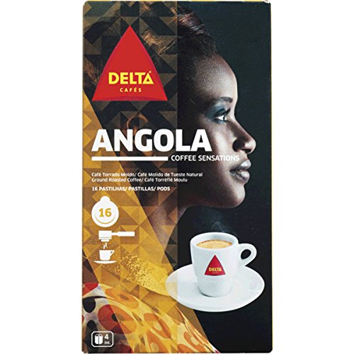 Buy DELTA - ANGOLA - SINGLE SERVING ESE 44mm Pods - 4 x 16 ESE pods (TOTAL = 64 ESE pods) - Delta Cafés - CAMPO MAIOR - PORTUGAL