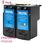 SaveOnMany � 5 Pack Canon PG-210XL PG...
