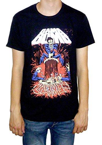 Gama Bomb T-shirt (Hammer Slammer) black Extra Large