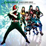 KAMEN RIDER V3 [Single, CD+DVD, Maxi] / 仮面ライダーGIRLS (CD - 2011)