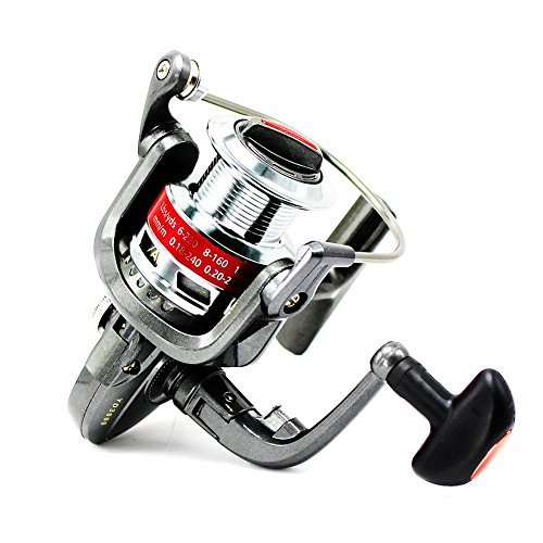 Tact-Pro Open Face Spinning Fishing Reel Baitrunner, Metal Material with 5.0:1 Gear Ratio 10 Ball Bearings, Freshwater/Saltwater (YD3000) (Open Face Catfish Reels compare prices)