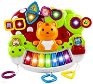 WolVol Baby Piano Activity Center wit…