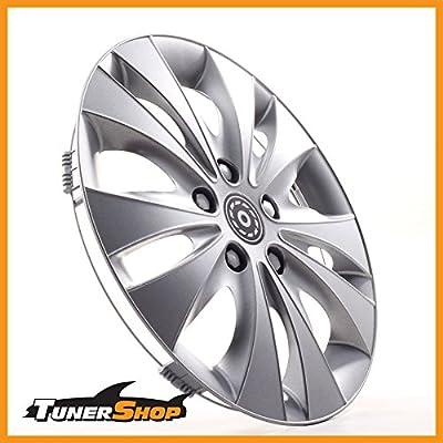 13 Zoll Radkappen Radzierblenden Radblenden Ford Stahlfelgen #2432167 silber Winter Sommer von Tunershop auf Reifen Onlineshop