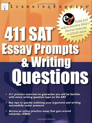 411 SAT Essay Prompts & Writing Questions