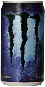 Monster Energy Absolutely Zero Mini Drink, 8 Ounce (Pack of 12)