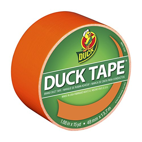 duck-brand-1265019-color-duct-tape-neon-orange-188-inches-x-15-yards-single-roll