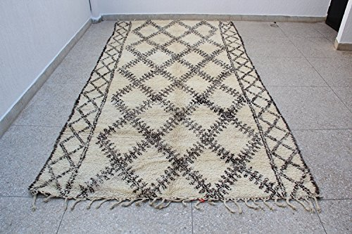 Beni Ourain Rug with fringe