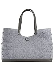 Mad Rabbit Kicking Tiger Didi-Large Women's Handbag