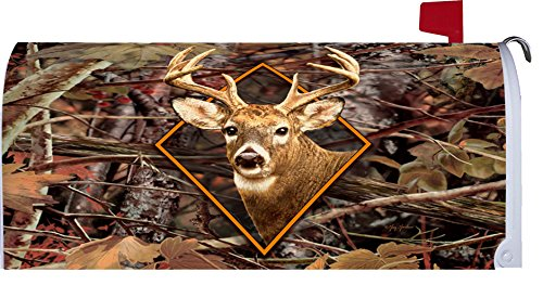 """ Deer Camo "" - Magnetic Mailbox Makeover Cover - Fall Theme"