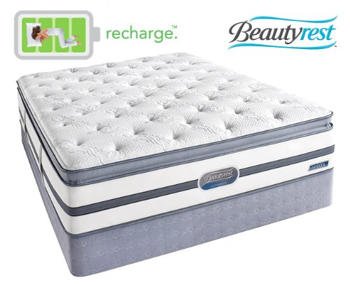 King Size Simmons Beautyrest Mattress front-957871