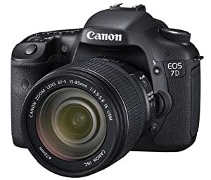 Canon EOS 7D 18.0 MP Digital SLR Camera - Black (Kit w/ EF-S IS USM 15-85mm Lens)