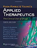 img - for Koda-Kimble and Young's Applied Therapeutics: The Clinical Use of Drugs book / textbook / text book
