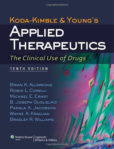Applied Therapeutics: The Clinical Use of Drugs 9th Edition