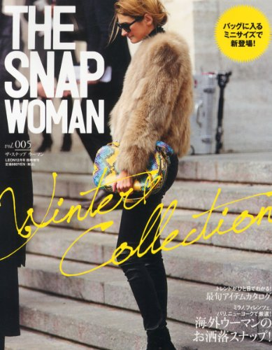 THE SNAP WOMAN 2012年Vol.5 大きい表紙画像