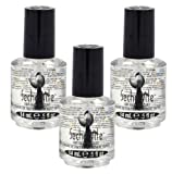 3 BOTTLES Seche Vite Dry Fast Top Coat .5 oz PROFESSIONAL Clear High Gloss 83005