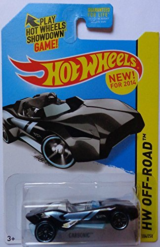 2014 Hot Wheels Hw Off-Road Carbonic - (Black)