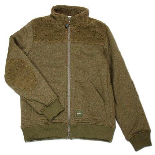 (コバノ) cobano VISIT JACKET リサイクルボアフリースレディースジャケット BROWN