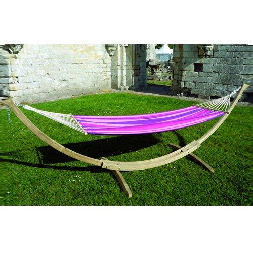 Amaca con supporto Starset Candy - dondolo da giardino - amaca sedia sdraio abbronzatura - rosa