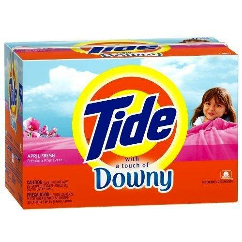 Tide Ultra Powder April Fresh Downy 1.18 l (Pack of 8)