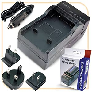 PremiumDigital Replacement Panasonic Lumix DMC-TZ35 Battery Charger