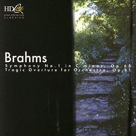 Brahms: Symphony No. 1, Tragic Overture