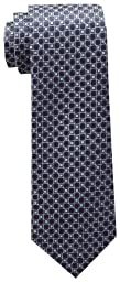 Tommy Hilfiger Men\'s Core Neat I Tie, Navy, One Size