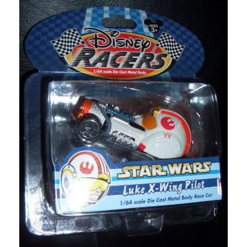 Amazon.com : Disney Racers Star Wars Luke X-wing Pilot