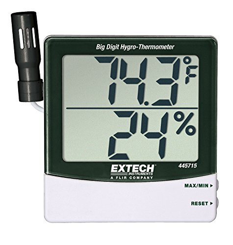 Extech 445715 Big Digit Hygro-Thermometer - 1