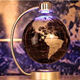 E-Plaza-8-inch-Innovative-Retro-Magnetic-Levitating-Floating-Globe-for-Home-Office-Decoration-Black