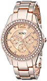 XOXO Women's XO5477 Rose Gold-Tone Bracelet Watch