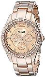 XOXO Women's XO5477 Rose Gold-Tone Bracelet Watch